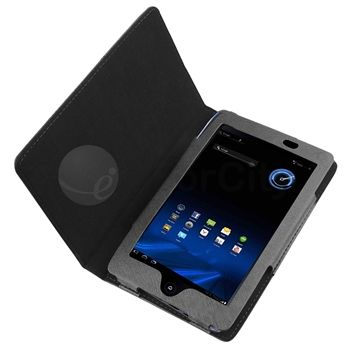Quality Leather Case Flip Stand Cover For Acer Iconia Tab A100 Black