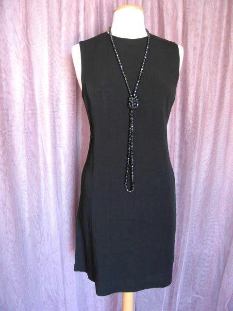 MICHAEL KORS PERFECT BLACK DRESS~NWT NEW SAKS~ITALY~M