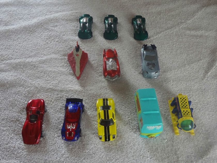11 Toy Cars Hot Wheels Matchbox McDonalds Scooby Doo Mystery Machine
